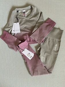 Gymshark Adapt Ombre Seamless Set Size S NWT
