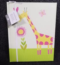 Jungle Friend Baby Girl Record Book (M)