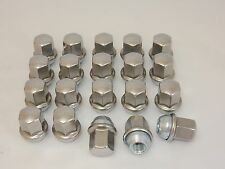 20 New Dodge Ram 1500 Factory OEM Polished Stainless 14x1.5 Lug Nuts Free Shipng
