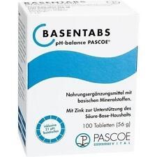 BASENTABS pH Balance Pascoe Tabletten 100 St