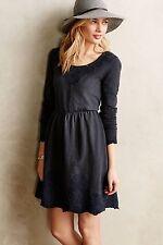 Anthropologie Embroidered Cotton Sweatshirt Dress By Saturday Sunday, Size M