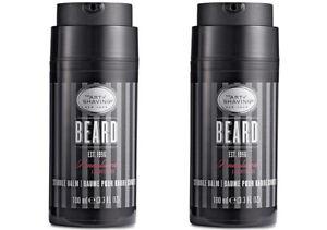 Lot 2PC Bundle The Art of Shaving Beard Stubble Balm SANDALWOOD 100ml 3.3fl oz