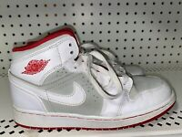 Nike Air Jordan 1 Hare GS Boys Youth Leather Athletic Basketball Shoes Size 4.5Y