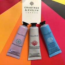 NEW Crabtree & Evelyn Hand Therapy Trio 3x25ml Natural Nourish Smooth 45%OFF