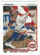 1990-91 UPPER DECK HOCKEY #153 PATRICK ROY - NEAR MINT+