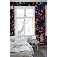 Floral Pattern Non-Woven wallpaper Watercolor Home decor Flowers wall mural