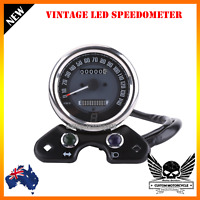 Universal Motorcycle Odometer Speedometer Gear Digital Display cafe racer custom