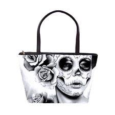 Felicity Calavera Sugar Skull Girl Purse Large Handbag Goth Lolita Pretty Dark