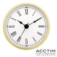 Acctim 79498 Quartz Clock Insert replacement Movement 80mm