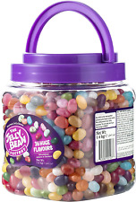 The Jelly Bean Factory Carrying Jar, 36 gourmet flavours, 1400 g