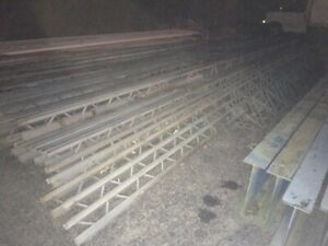 Used Mezzanine warehouse structural span steel 25-50 ft combination & more sizes