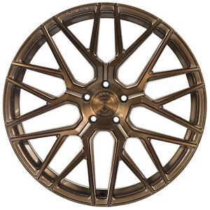 "20"" Rohana RFX10 Brushed Bronze Concave Wheels for Hyundai"