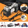 150PSI DC 12V 60L/M Portable Air Compressor Deflator Inflator 4WD Car Truck Tyre