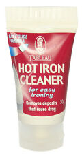 HOT IRON SOLEPLATE CLEANER TUBE 30G NEW GLIDE FORMULA FOR EASY IRONING TABLEAU