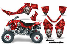 ATV Graphics Kit Quad Decal Wrap For Polaris Outlaw 500 525 2006-2008 BONES RED