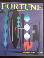 October 1950 Fortune Magazine Cover Only Never Bound Erberto Carboni Cover Art