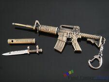 NIB Dragon design M4A1 machine carbine Gun Metal Model keychain exquisite Gifts