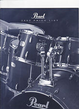 #MISC-0439 - 2003 PEARL DRUMS musical instrument catalog price list