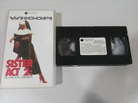 SISTER ACT 2 - Whoopi Goldberg Bill Duke - VHS Nastro Castellano