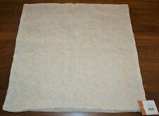 Pottery Barn Olavi Jacquard Decorative Texture Pillow Cover 22 New Ivory Neutral