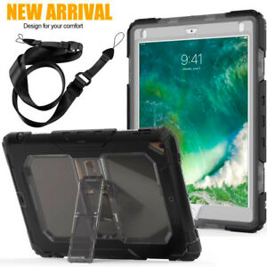 Heavy Duty Rugged Builders Military Case Cover For  Apple iPad 3 4 Air Mini Pro