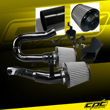 07-10 BMW 335i 3.0L L6 E90/E92/E93 Black Cold Air Intake + Stainless Air Filter