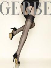 Bas Nylon FF 10 Deniers à Couture vintage 100% NYLON Carnation de Gerbe