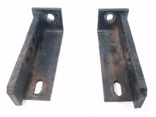OEM Grasshopper / Woods LEFT AND RIGHT MOUNT ATTACHMENTS off of 6200 Lawn Mowers