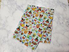 Disney Theme Park Food Character Fabric 100 % Cotton