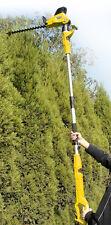 Taille haie télescopique PRO sur perche 510W hauteur 2.80 mètres GTHE510SP