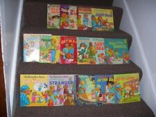 The Berenstain Bears Book Lot of 17