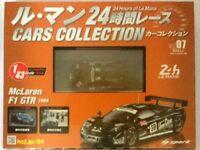 24 Hours of Le Mans Cars Vol.07 McLaren F1 GTR (1995) 1/43 Model -SPARK Hachette