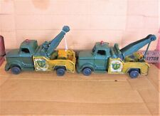 Rare Vintage Upper Deck Cast Iron British Petroleum Bp Tow Truck - New Other!
