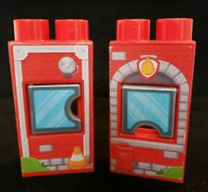 Mega Bloks Replacement Window Fire Station Opens M90516 M90516 Red