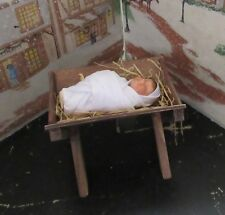 BYERS CHOICE Byers Choice Baby Jesus in a Manger The Nativity 2015 *