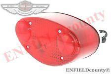 KAWASAKI H1 H2 MACH 350 500 TAIL LIGHT REAR BRAKE STOP LAMP RED LENS AUTO EDH