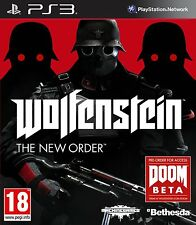 PS3   Wolfenstein: The New Order (Playstation 3)
