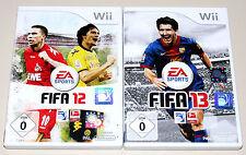 2 GIOCHI WII Set-FIFA 12 & FIFA 13-EA CALCIO FOOTBALL SOCCER NINTENDO