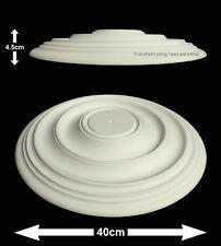 40cm Diameter, Lightweight Ceiling Rose (made of strong resin not polystyrene)