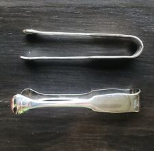 Pair Of Vintage Christofle Silver Plate Ice/Sugar Tongs