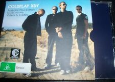Coldplay X&Y Rare Australian Tour Edition CD DVD