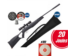 Carabine à plomb 4.5mm  20 joules + lunette de visée + housse
