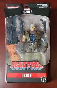 "Hasbro Marvel Legends CABLE X-Force Sasquatch BAF 6"" Action Figure Deadpool NEW"