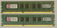 8GB Kingston KVR1333D3E9SK2/8g 2x4GB PC3-10600E ECC 2Rx8 DDR3-1333MHz unbuffered