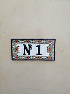 house  ceramic  tile  number