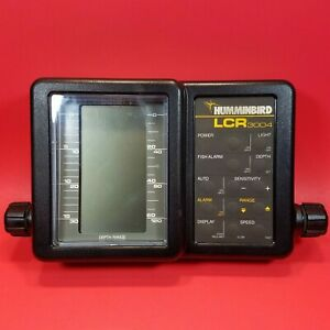 HUMMINBIRD LCR 3004 Portable Fish Finder  NO Transducer or Cables HEAD UNIT ONLY