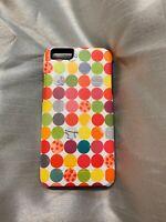 OtterBox Symmetry - iPhone 6/6s plus -polka dot/pink pastel -no retail packaging