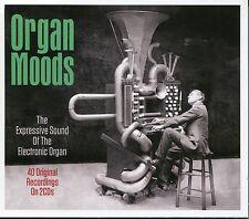 ORGAN MOODS - 2 CD BOX SET - EXPRESSIVE SOUND OF THE ELECTRONIC ORGAN