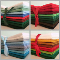Wool mix felt craft pack - Christmas - choice of colours & pack sizes