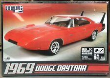 1969 Dodge Charger Daytona MPC 1/25 Scale Plastic Model Kit